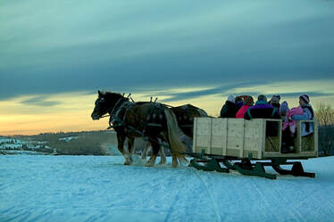 Sleigh Ride in VT